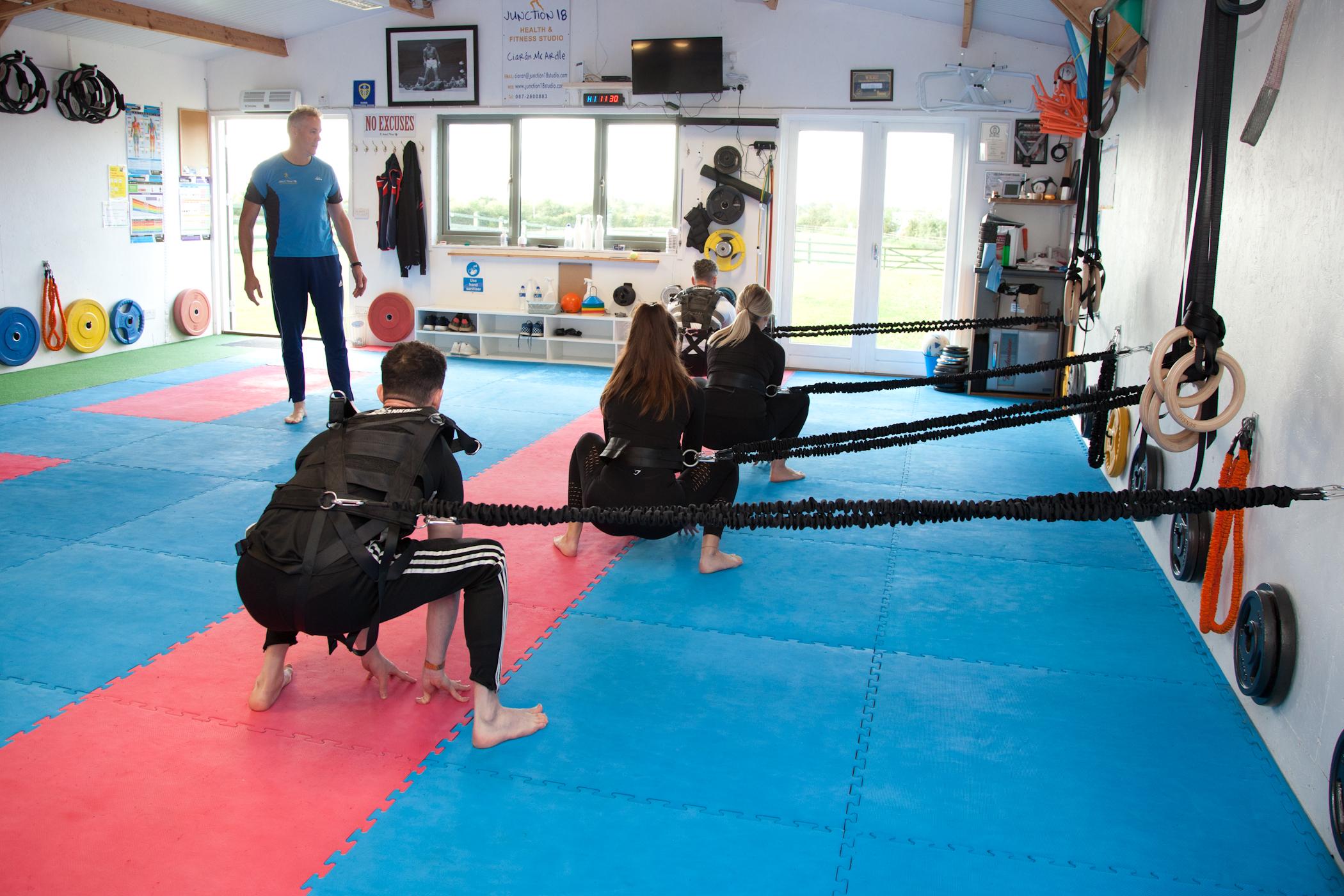Zuu Training Ciaran McArdle